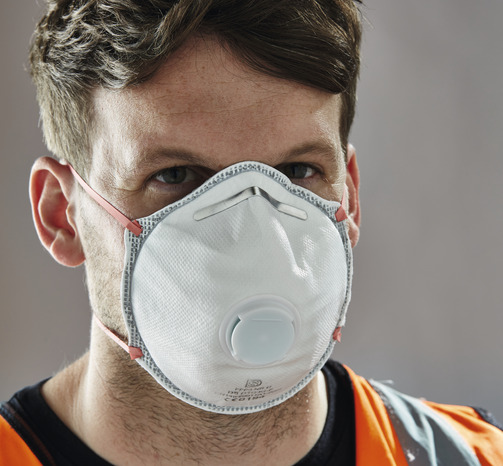 masque respiration jetable