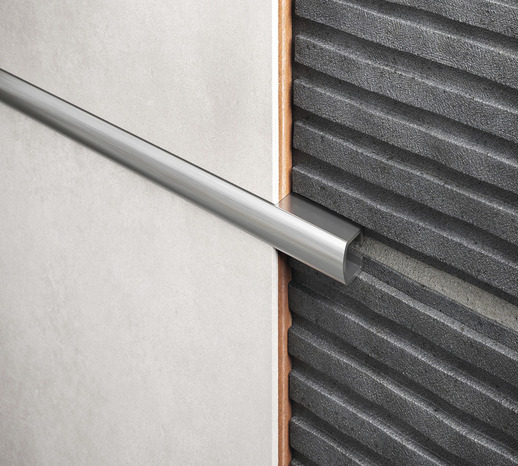 listel aluminium chrom 10 mm brico d p t. Black Bedroom Furniture Sets. Home Design Ideas