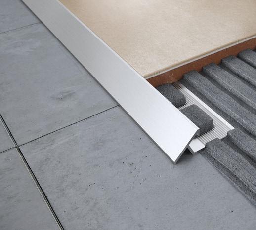 profil de transition sol aluminium brut 8 mm le profil. Black Bedroom Furniture Sets. Home Design Ideas