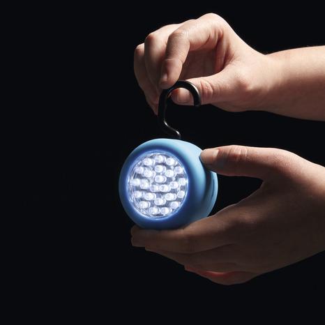 lampe led magn tique ronde brico d p t. Black Bedroom Furniture Sets. Home Design Ideas
