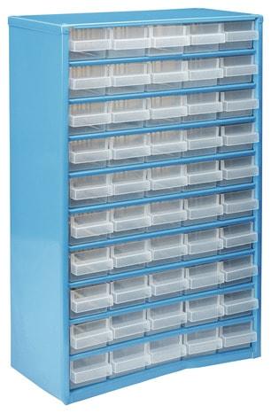 casier organiseur m tallique 50 tiroirs brico d p t. Black Bedroom Furniture Sets. Home Design Ideas