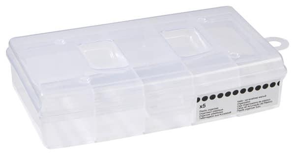 mallette organiseur petite compartiments fixes brico d p t. Black Bedroom Furniture Sets. Home Design Ideas