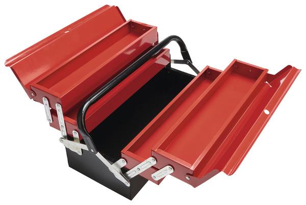 Boîte à Outils à Cantilever en Métal 43 cm - Brico Dépôt
