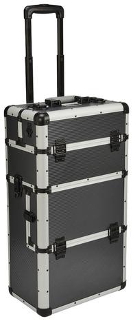 coffre de rangement mobile 3 compartiments aluminium brico d p t. Black Bedroom Furniture Sets. Home Design Ideas