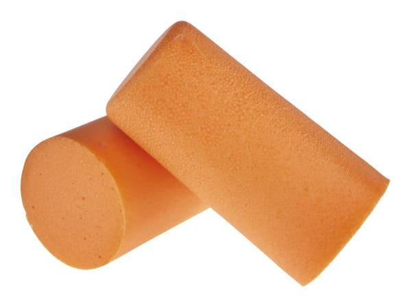 bouchons d 39 oreilles orange en mousse 35 db brico d p t. Black Bedroom Furniture Sets. Home Design Ideas