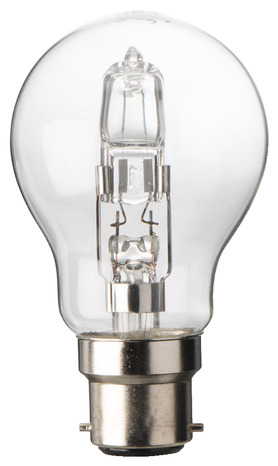 3 ampoules halog ne b22 57w 75w brico d p t. Black Bedroom Furniture Sets. Home Design Ideas