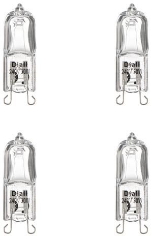 ampoule hotte aspirante 40w affordable lampe ampoule halogne dpolie g w lm v pour four hotte. Black Bedroom Furniture Sets. Home Design Ideas
