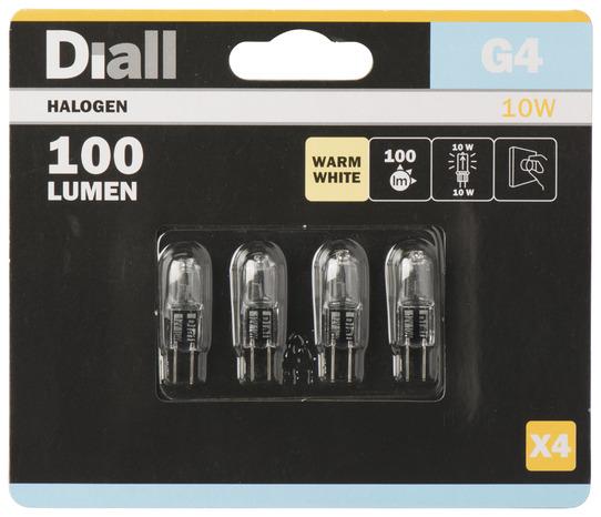 4 capsules halog ne g4 10w 10w le lot de 4 ampoules - Variateur de lumiere brico depot ...