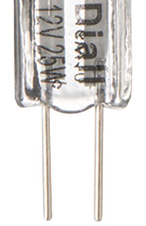4 capsules halog ne g4 25w 44w le lot de 4 ampoules brico d p t. Black Bedroom Furniture Sets. Home Design Ideas