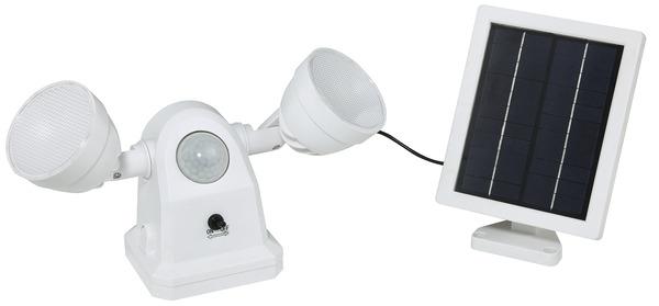 projecteur solaire a detection 450 lm brico d p t. Black Bedroom Furniture Sets. Home Design Ideas
