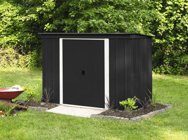 Abri de jardin en m tal 3 m brico d p t for Abri de jardin brico depot