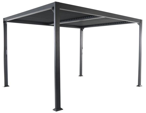 barnum lames aluminium gris 3 x 3 6 m brico d p t. Black Bedroom Furniture Sets. Home Design Ideas
