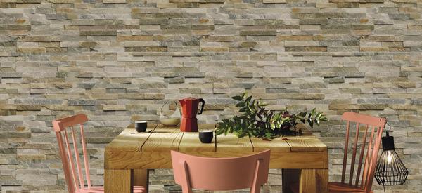 plaquette de parement en pierre naturelle brico d p t. Black Bedroom Furniture Sets. Home Design Ideas