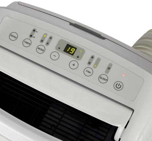 climatiseur mobile r versible l 46 6 x h 76 5 x p 39 7 cm 2 600 w brico d p t. Black Bedroom Furniture Sets. Home Design Ideas