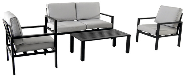 salon de jardin aluminium le salon de jardin brico d p t. Black Bedroom Furniture Sets. Home Design Ideas