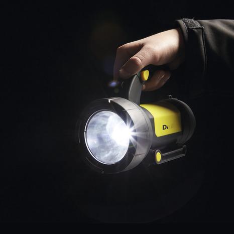 torche de chantier rechargeable led 190 lm brico d p t. Black Bedroom Furniture Sets. Home Design Ideas