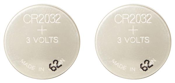 lot de 2 piles bouton lithium 3v cr2032 cr2032 brico d p t. Black Bedroom Furniture Sets. Home Design Ideas