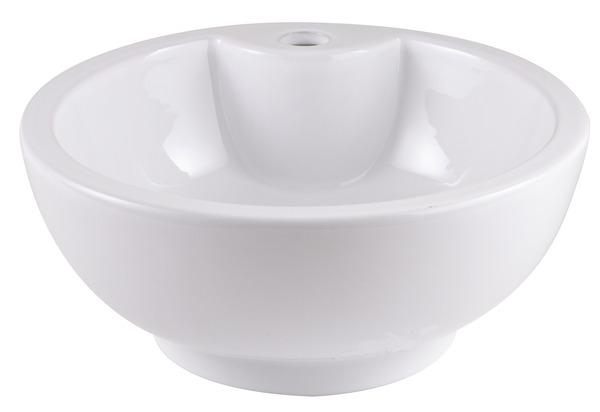 vasque poser fenella h 16 5 cm 40 cm brico d p t. Black Bedroom Furniture Sets. Home Design Ideas