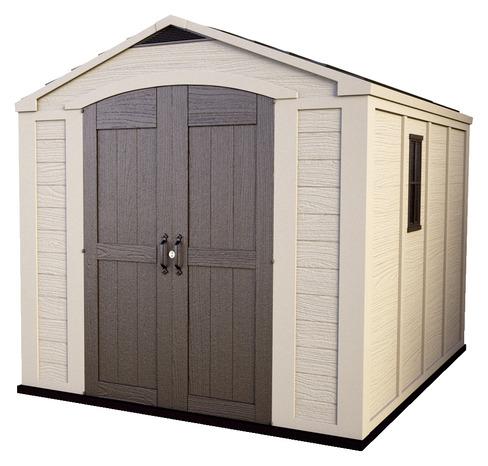abri de jardin r sine 8 5 m brico d p t. Black Bedroom Furniture Sets. Home Design Ideas