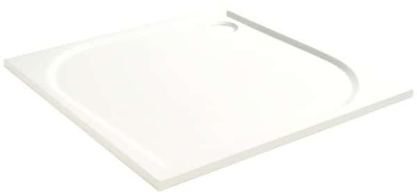 extraplat en rÉsine blanche 90 x 90 cm 90 x 90 cm - cooke and