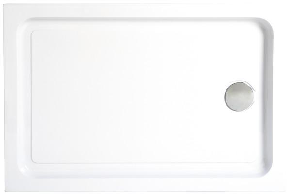 Receveur De Douche Rectangulaire 120 X 80 Cm En Acrylique