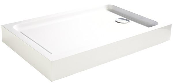 receveur acrylique 120 x 80 cm 80 x 120 cm brico d p t. Black Bedroom Furniture Sets. Home Design Ideas