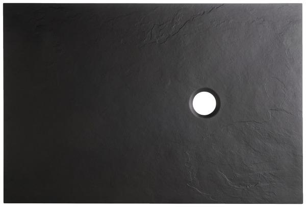 receveur extraplat en r sine noire 120 x 80 cm 80 x 120 cm. Black Bedroom Furniture Sets. Home Design Ideas