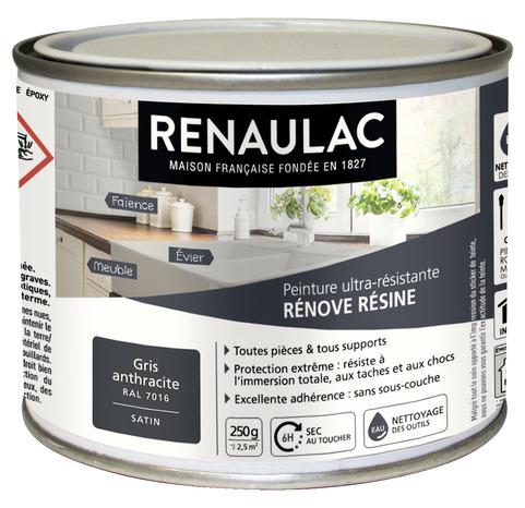 Peinture r nove r sine 0 25 l 0 25 l blanc cass - Brico depot peinture glycero ...