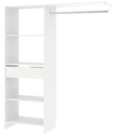 Kit Dressing Blanc 1 Colonne Larg 60 Cm Zenit