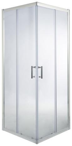porte de douche angle droit 190 x 80 cm verre transparent brico d p t