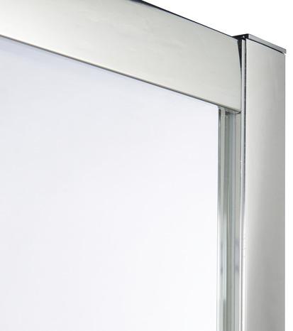 acc s d 39 angle droit onega h 190 x l 90 cm verre transparent larg ext de 87 5 90 cm. Black Bedroom Furniture Sets. Home Design Ideas