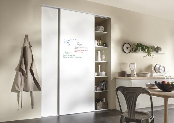 Cool pack de portes tableau blanc h x l cm le pack brico for Brico depot niort 79000