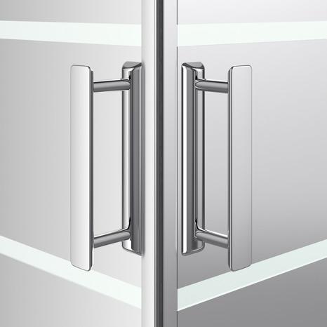 acc s d 39 angle rectangle beloya verre effet miroir h 195 x l 80 120 cm l 80 cm brico d p t. Black Bedroom Furniture Sets. Home Design Ideas