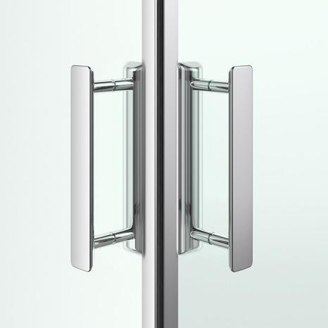 acc s d 39 angle droit beloya h 195 x l 70 cm verre transparent larg 70 cm brico d p t. Black Bedroom Furniture Sets. Home Design Ideas