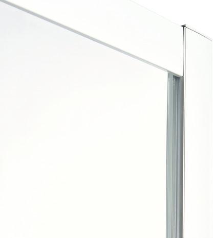 acc s d 39 angle droit onega h 190 x l 80 cm verre aspect d poli larg ext de 77 5 80 cm. Black Bedroom Furniture Sets. Home Design Ideas