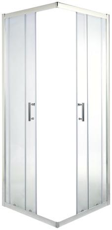 Porte De Douche Angle Droit 190 X 80 Cm Verre Transparent Brico Depot
