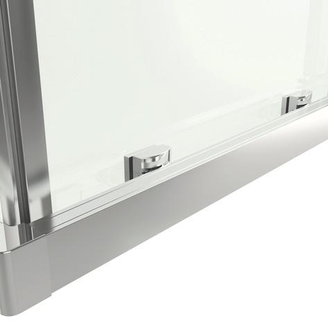 Acc s d 39 angle rectangle beloya verre effet miroir h 195 for Brico depot niort 79000