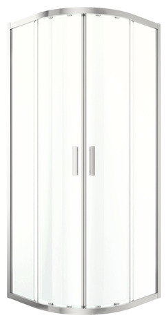 acc s d 39 angle circulaire beloya verre transparent h 195 x l 80 cm larg 80 cm brico d p t. Black Bedroom Furniture Sets. Home Design Ideas