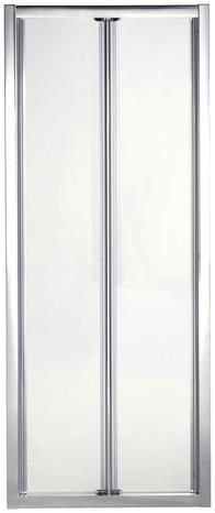 Porte pliante onega h 190 x l 90 cm verre transparent - Porte de douche pliante 90 cm ...