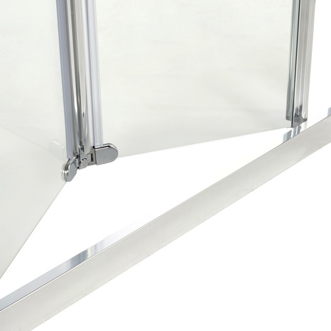 Porte pliante onega h 190 x l 90 cm verre transparent - Porte kz pliante ...