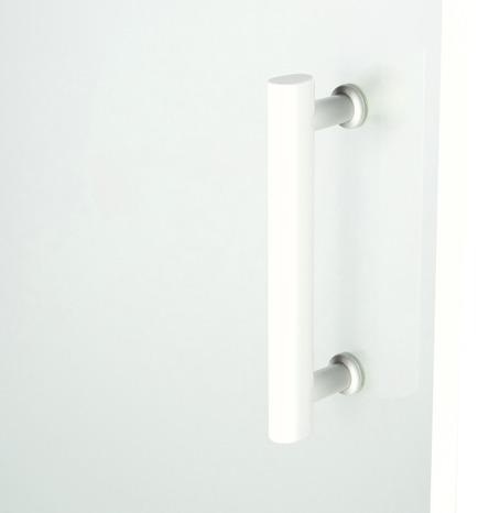 porte coulissante 2 volets onega h 190 x l 100 cm verre aspect d poli larg ext de 97 5. Black Bedroom Furniture Sets. Home Design Ideas