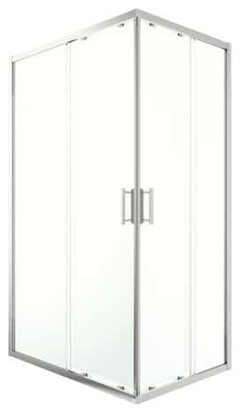 Acc s d 39 angle rectangulaire beloya verre transparent h for Brico depot niort 79000