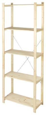 tag re bois h 170 x l 65 x p 28 cm brico d p t. Black Bedroom Furniture Sets. Home Design Ideas