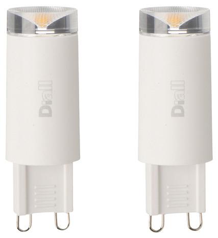 lot de 2 ampoules led capsule g9 28w 4000k brico d p t. Black Bedroom Furniture Sets. Home Design Ideas