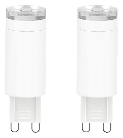 lot de 2 ampoules led capsule g9 28w 2700k brico d p t. Black Bedroom Furniture Sets. Home Design Ideas