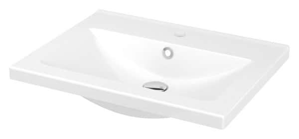 Plan Vasque Ceramique L 61 X H 12 Cm Brico Depot