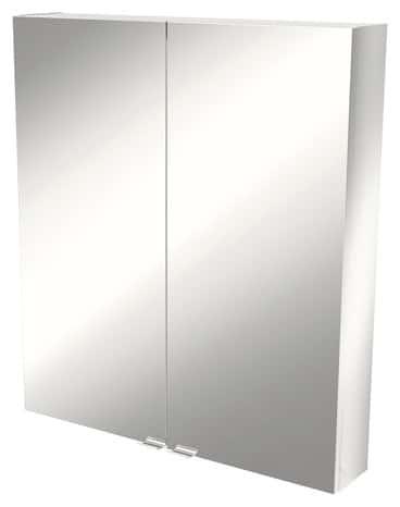 armoire murale miroir imandra l 80 x h 90 x p 15 cm brico d p t. Black Bedroom Furniture Sets. Home Design Ideas