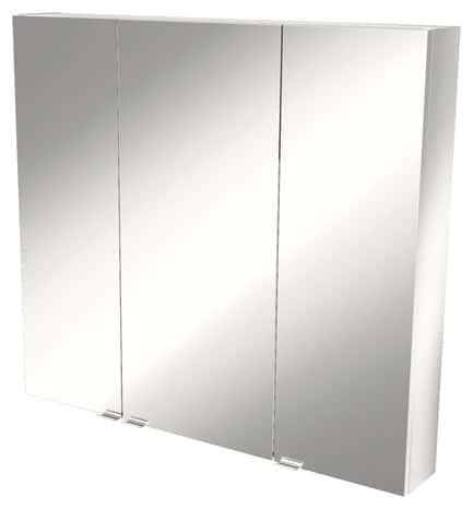 armoire murale miroir imandra l 100 x h 90 x p 15 cm brico d p t. Black Bedroom Furniture Sets. Home Design Ideas