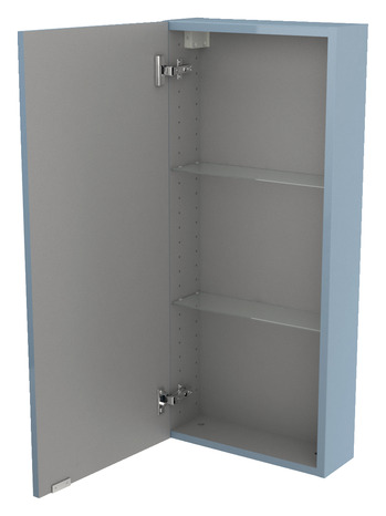 armoire murale bleu imandra l 40 x h 90 x p 15 cm brico d p t. Black Bedroom Furniture Sets. Home Design Ideas