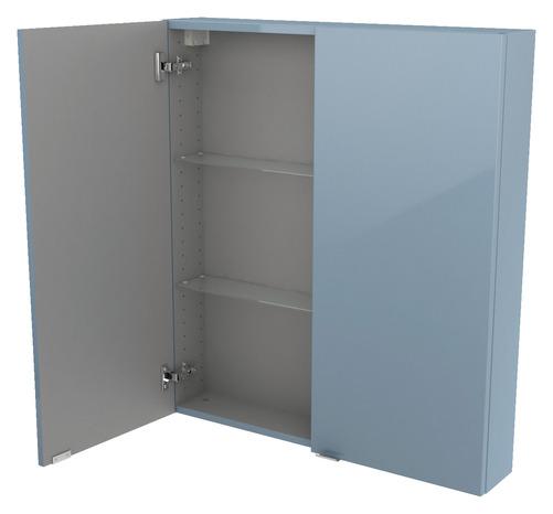 armoire murale bleu imandra l 80 x h 90 x p 15 cm brico d p t. Black Bedroom Furniture Sets. Home Design Ideas